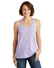 District Made DM466  ® Ladies Cosmic Twist Back Tank. . at GotApparel