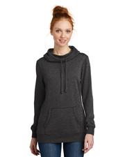 District Made DM493 Women Lightweight Fleece Hoodie     at GotApparel