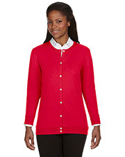 Ladies' Perfect Fit™ Ribbon Cardigan at GotApparel