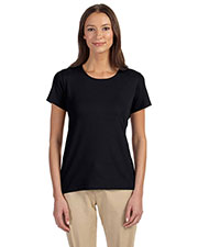 Devon & Jones Classic DP182W Women Perfect Fit  Shell T-Shirt at GotApparel