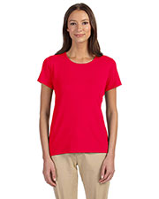 Devon & Jones Classic DP182W Women Perfect Fit  Shell T-Shirt at GotApparel