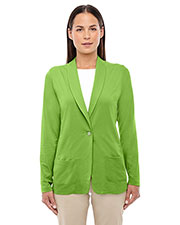 Devon & Jones Classic  DP462W Women Perfect Fit  Shawl Collar Cardigan at GotApparel
