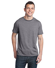 District DT142 Men Tri-Blend Crew Neck Tee at GotApparel