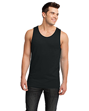 District DT1500 Men Cotton Ringer Tank at GotApparel