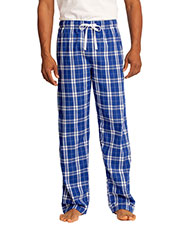 District DT1800 Men Flannel Plaid Pant at GotApparel