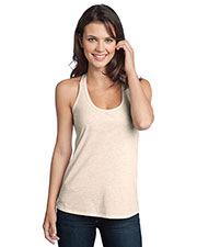 District DT250 Women Tri-Blend T-Back Tank at GotApparel
