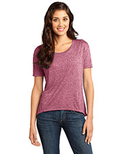District DT260 Women Microburn Hi/Lo Tee at GotApparel
