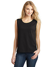 District DT4301 Women Vintage Wash Muscle Tank at GotApparel