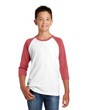 District Dt6210y    Youth Very Important Tee  3/4-Sleeve Raglan at GotApparel