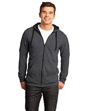District DT800 Men The Concert Fleece™ Full Zip Hoodie at GotApparel