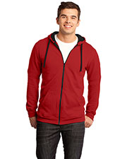 District DT800 Men The Concert Fleece  Full-Zip Hoodie at GotApparel