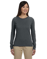 Custom Embroidered Econscious EC3500 Women 4.4 Oz. 100% Organic Cotton Classic Long-Sleeve T-Shirt at GotApparel