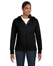 Custom Embroidered Econscious EC4501 Women 9 Oz. Organic/Recycled Full-Zip Hood at GotApparel