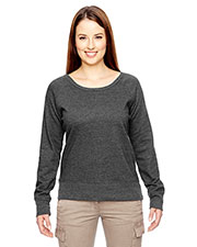 Econscious EC4505 Adult 7 oz. Organic/Recycled Heathered Fleece Raglan Pullover at GotApparel
