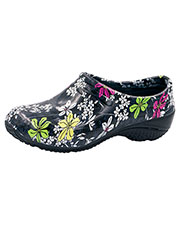 Anywear EXACT Women Slip Resistant Injected Closed Back Clog at GotApparel