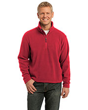 Port Authority F218 Men Value Fleece 1/4-Zip Pullover at GotApparel