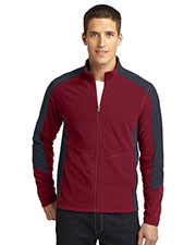 Port Authority F230 Men Colorblock Microfleece Jacket at GotApparel