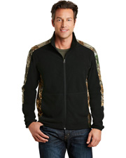 Port Authority F230C Men   Camouflage Microfleece Full-Zip Jacket at GotApparel