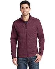 Port Authority F231 Adult Digi Stripe Fleece Jacket at GotApparel