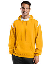 Sport-Tek F264 Men Pullover Hooded Sweatshirt with Contrast Color at GotApparel