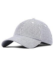 Fahrenheit F303  Light Weight Cotton Seersucker Cap at GotApparel