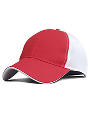 Fahrenheit F366  Performance Pearl Nylon Mesh Back Cap at GotApparel
