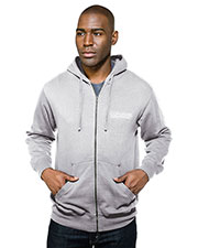 Tri-Mountain F590 Men Chance Hooded Full Zip Sweatshirt at GotApparel