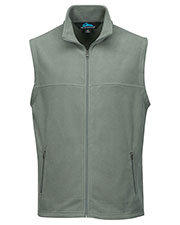 Tri-Mountain F8358 Men Expedition Polar Fleece Vest With Slash Zipper Pocket at GotApparel