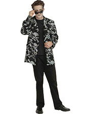 Halloween Costumes FM60936 Men Skull And Bones Sport Jackt Lg at GotApparel
