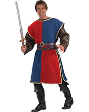 Halloween Costumes FM68559 Men Medieval Tabard Red Blue at GotApparel