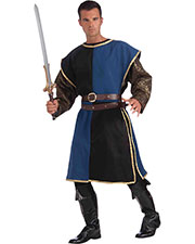 Halloween Costumes FM68560 Men Medieval Tabard Blue Black at GotApparel