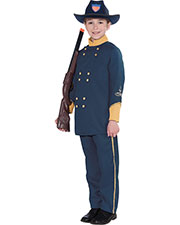 Halloween Costumes FM69924 Boys Union Officer Child 8-10 at GotApparel
