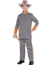 Halloween Costumes FM69927 Boys Confederate Office Child 8-10 at GotApparel