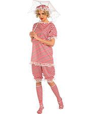 Halloween Costumes FM72094 Women Beachside Bettie Med at GotApparel