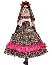 Halloween Costumes FM74798  DAY OF DEAD SPANISH LADY at GotApparel
