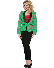 Halloween Costumes FM76287 Women Candy Cane Blazer Small at GotApparel