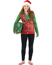 Halloween Costumes FR116450MD Women  Ugly Christmas Vest Md at GotApparel