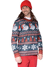 Halloween Costumes FR126708LG Men Ugly Santa Stripe Christmas Lg at GotApparel