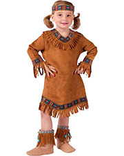 AMERICAN INDIAN GIRL TOD 3T-4T at GotApparel