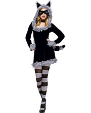 Halloween Costumes FW121714ML Women Racy Raccoon Md Lg 10-14 at GotApparel