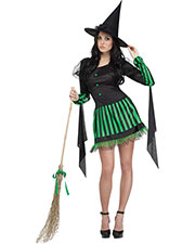 Halloween Costumes FW123364ML Women Wicked Witch Adult Md Lg 10-14 at GotApparel