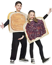 Halloween Costumes FW130922 Boys Peanut Butter N Jelly Child at GotApparel