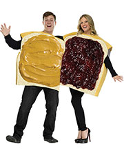 Halloween Costumes FW130924 Women Peanut Butter/Jelly Couple Cos at GotApparel