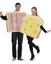 Halloween Costumes FW130984 Men Ham And Swiss Couple at GotApparel