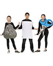 Halloween Costumes FW130992 Girls Rock Paper Scissor Up To Sz 14 at GotApparel