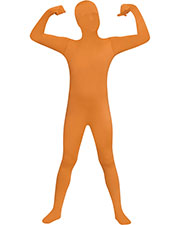 SKIN SUIT ORANGE CHILD 12-14 at GotApparel