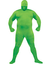 Halloween Costumes FW131265GR Men Skin Suit Green Plus at GotApparel