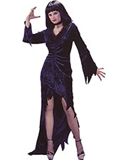 Halloween Costumes FW1417SD Women Queen Of Crypt Vel Sml Md at GotApparel