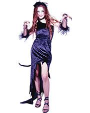 Halloween Costumes FW1418SD Women Cat Magic Blck Dress Sm Med at GotApparel