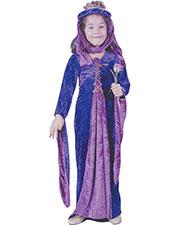 Halloween Costumes FW1473SM Girls Renaissnc Prncss Vlvt Ch Sm at GotApparel